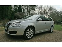 VW Golf Estate 1.6SE - 2009 - Petrol - Silver - 35000 miles only