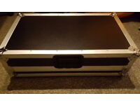 ProDJuser (Swan/Magma/Skeleton) flight case (Pioneer XDJ-Aero/DDJ/Numark) w/sliding laptop shelf