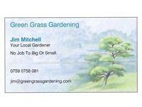 Green Grass Gardening