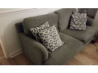 Grey Sofa and matching Chair