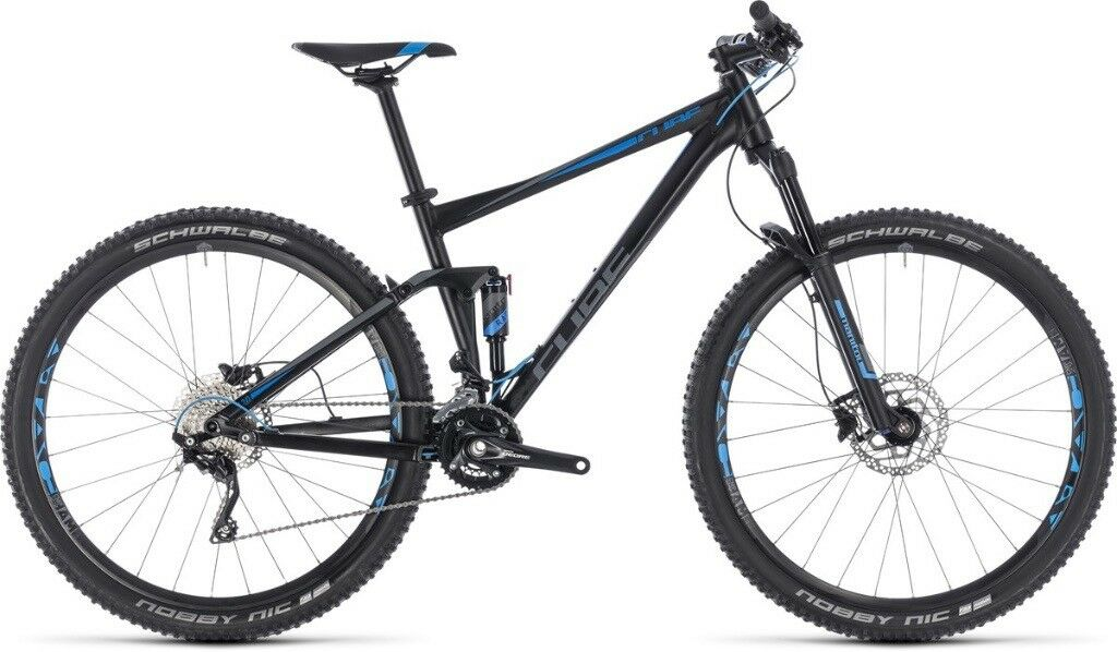 Brand New 2018 Cube Stereo 120 Full Suspension Mountain Bike 18 Inch ...