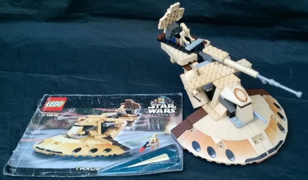 Lego Star Wars Trade Federation Aat Set 7155 With Instructions