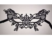 Halloween Sexy Lace Masquerade Mask - lace butterfly