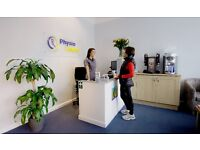 Receptionist for Physiotherapy Clinic