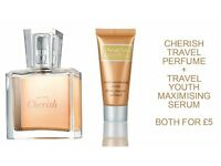 AVON Travel Sets - Perfume and Face Serum