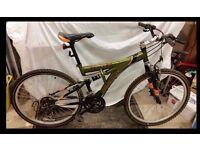 Apollo Outrage Mountain Bike Full Suspension