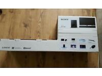 Sony Sound Bar and Subwoofer