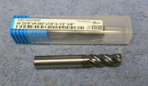 "WIDIN    CARBIDE  END MILL   3/8""    5 FLUTE     1 PC   482020"