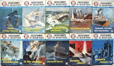 Anker Hefte Seefahrt in aller Welt Band 50 51 52 53 54 55 56 57 58 59
