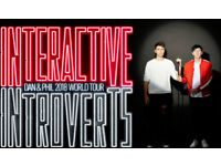 Dan & Phil - INTERACTIVE INTROVERTS -Glasgow 2018 Tickets
