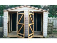 Super quality large Shed 10 x 4 Fully lined