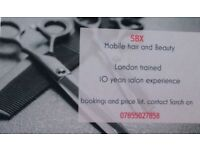 Mobile hairdresser and beautician