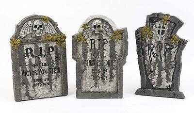 Gruselig Horror 55.9cm Grabsteine für Drinnen / Außen Halloween Dekoration ()