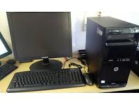 """Office Computer - HP 3500 PRO MT With 19"""" Screen Ready To Go Office PC with Software, OS + Support"""