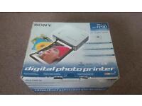 Sony dpp fp30 digital photo printer
