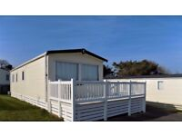 Luxury 2 bedroom Static Caravan For Sale in 5 * Shorefield Country Park, Milford on Sea, Hampshire