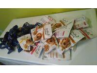 Dog treat Bundle with a FREE bag of AATU 1.5kg bag of food