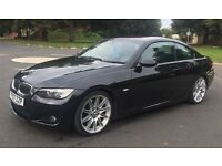 BMW 330D - M SPORT - TOP SPEC- SAT NAV- I DRIVE - HEATED LEATHER - FULLY LOADED.