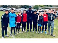 Under 15's football team looking for players