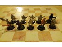 Warhammer 40k, Steel Legion and Dark Eldar Army