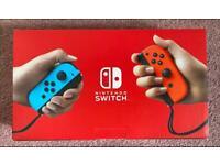 Brand new Nintendo switch in box