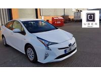 PCO CAR HIRE RENT | NEW 2016 TOYOTA PRIUS - 66plate | ****£200 WEEK!!!!!!!!****UBER READY**