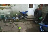 Mini motos job lot
