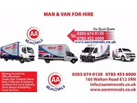 AA REMOVALS MAN AND VAN HIRE Short Notice | Moving House/FIat/Office/Business/Students Move UK&EU
