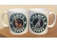 Lady & The Tramp Coffee Mug Set .