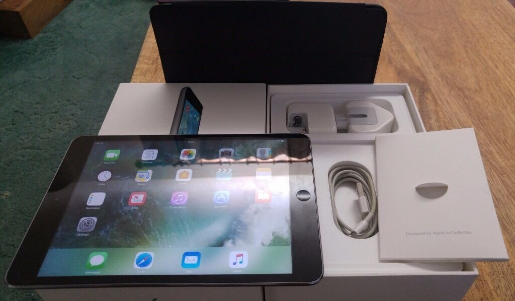 IPAD MINI 2 WITH CHARGER, INSTRUCTIONS AND CASE, GREAT CONDITIONin Plympton, DevonGumtree - IPAD Mini 2, hardly used great condition In box with Charger, Instructions and official Ipad Case Collection from Plympton available now