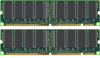 1GB KIT ( 512MB x2) PC133  PC-133 RAM SDRAM MEMORY (512 Mb Sdram Kit)