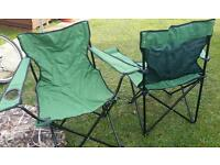 Folding fishing /camping chairs