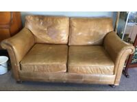 Barker and Stonehouse leather sofa/settee Two seater