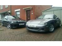 Mazda mx5 1.8 eunos roadster lsd rs vs import
