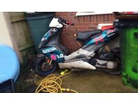 Look to swap my aprill sr with 70 kit for a pit bike