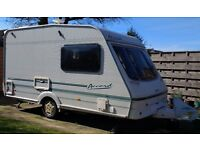 Swift Accord 390 Special Edition, 2 Berth Caravan complete with Motor Mover.