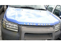 2003 -LAND ROVER FREELANDER SE - in BLUE - BREAKING for SPARE PARTS.
