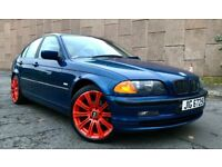 *** BARGAIN *** 2001 BMW 320d SE, MANUAL, LONG MOT, TURBO DIESEL, FULL HEATED LEATHER, READY TO GO