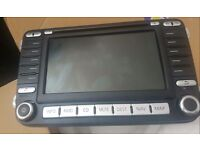 Genuine vw mfd 2 with code sat nav for eos golf scirocco cheap!!!