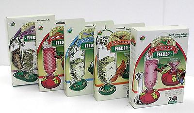5 Soda Bottle Wild Bird Feeders Gift Set - Great Gift for Bird Lovers