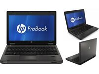 HP 6360B Quad Core 2.6GHZ Laptop. Windows 7. 8GB. 250GB. 1 Year Warranty