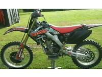 Honda CRF 250 2007 Twin Pipe