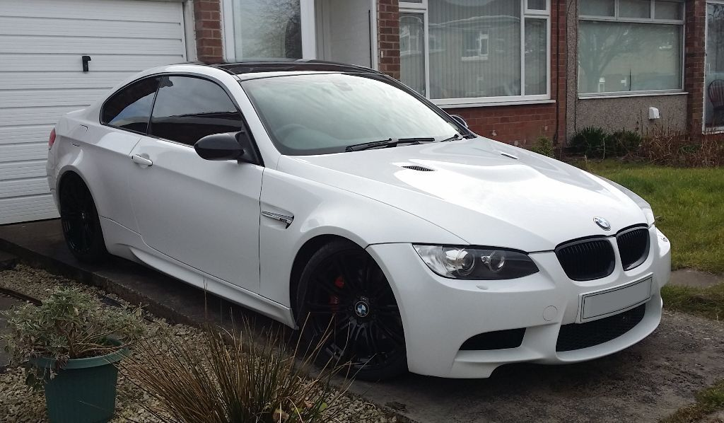 bmw e92 m3 full conversion replica white black red in ashington northumberland gumtree. Black Bedroom Furniture Sets. Home Design Ideas