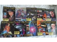 Star Trek Official The Collector's Edition Magazine Collection 1-10