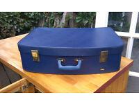 Beautiful original Pixie Royal Blue vintage suitcase