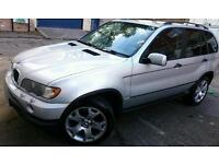 MUST GO ASAP BMW X5 2001 3.0 DIESEL AUTOMATIC SILVER BRISTOL 12 month MOT