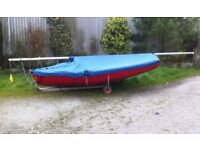 Enterprise Dinghy - excellent condition - lots of extras inc launching trailer