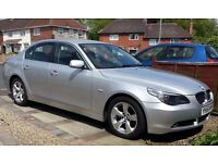 BMW 520D MANUAL E60 WITH ALLOY WHEELS WITH RUN FLAT TYRES