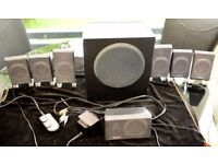 Creative Inspire T7900 Dolby EAX 7.1 surround sound speakers