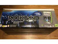 Xbox 360 Rock Band Drum Kit And Beatles Rockband Game